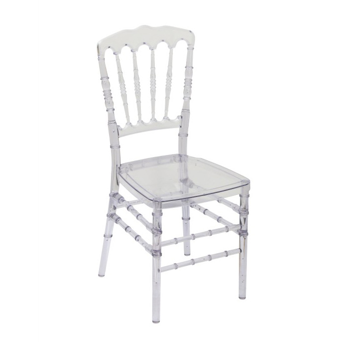 china manufacturer modern transparent wedding napoleon chair
