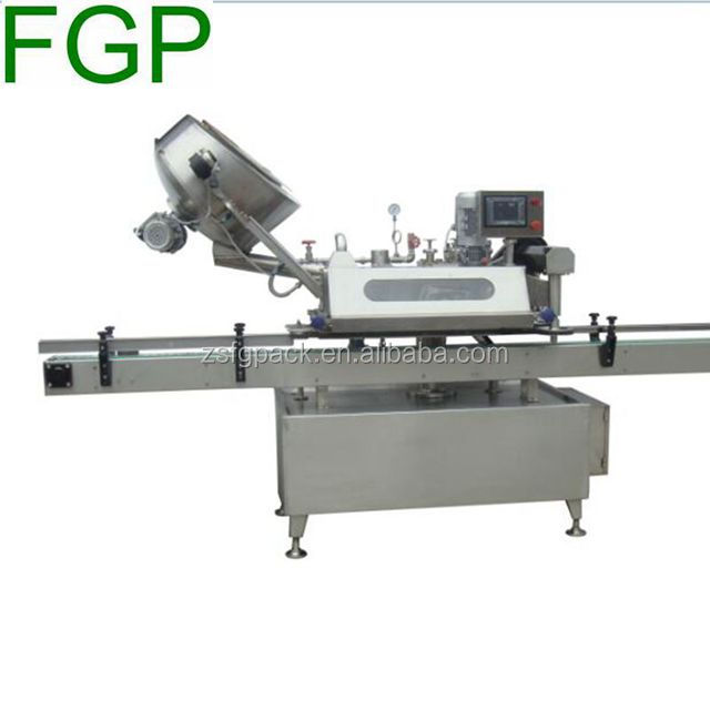 Automatic plastic bottle screw capping machine plastic jar screw cap capper with PLC touch screen made in China