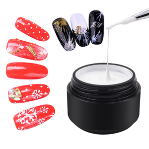 OEM/ODM high quality line painting color gel nail polish uv gel soak off spider gel