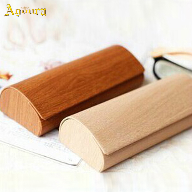 Custom High Quality Wood Handmade Glasses Box Creative Sunglasses Packaging Case