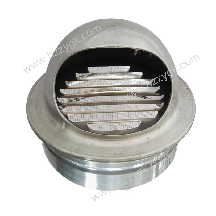 Crimp Aluminum Round Ventlation Ceiling Air Vent Cap