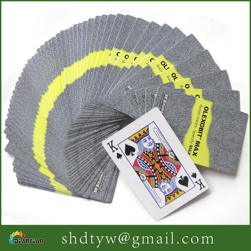 playing cards large print