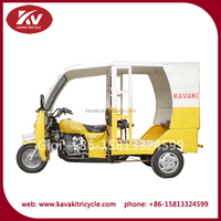Hot selling good quality 4 to 6 passenger 200cc three wheel motorcycle moto taxi for sale