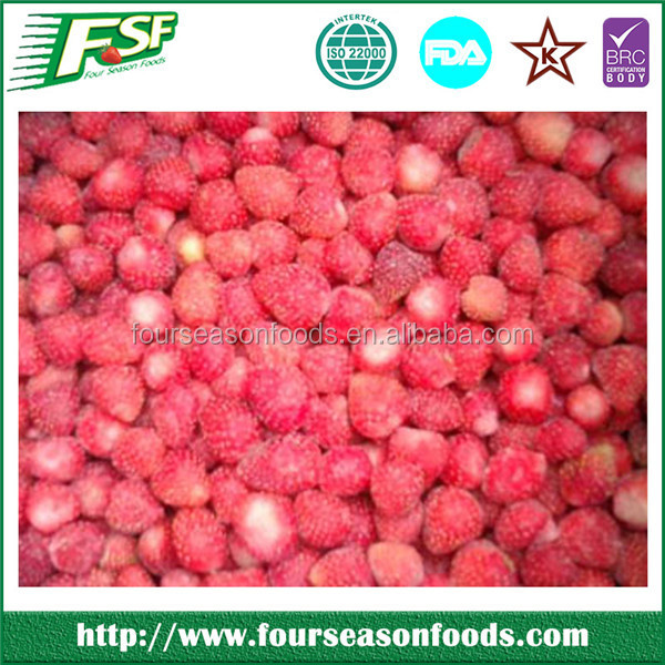 Trustworthy China supplier frozen wild strawberry