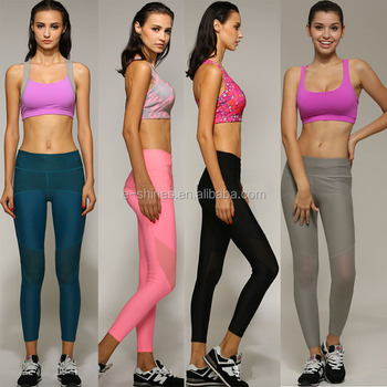 2017 Womens Workout Clothing Sexy Fitness Gym Hot Yoga Clothes