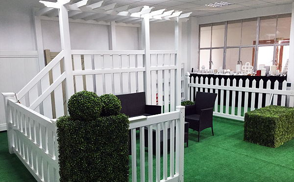 Cheap Plastic PVC Garden Trellis