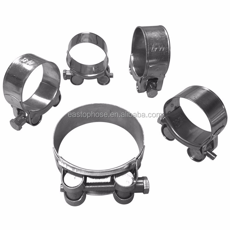 Adjustable hydraulic heavy duty hose clamping safety