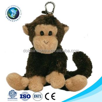 Top selling cheap cute monkey plush toy wholesale custom mini soft stuffed plush  monkey keychain 2f54cf87cc17