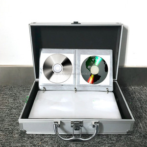 Aluminium DJ CD Flight Storage Case