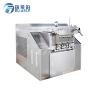 Factory price high pressure dairy homogenizer milk homogenizer types of homogenizer