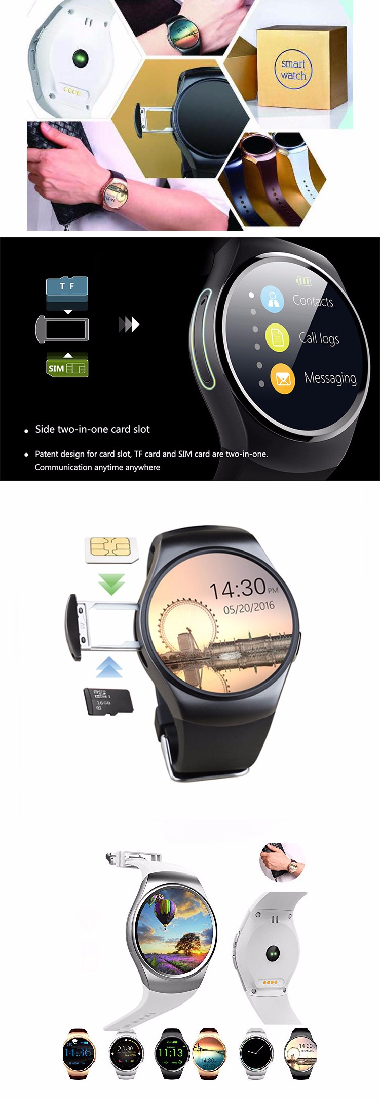 Excellent Round Touch Screen Kw18 Smartwatch - Buy Smartwatch Kw18,Heart  Rate Monitor Watch Sport Kw18 Smart Watch Oem Kw18 Watch,Kingwear Kw18  Round