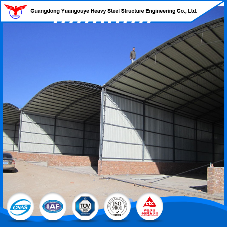 Guangdong steel structural warehouse prefab workshop with factory steel structure drawing