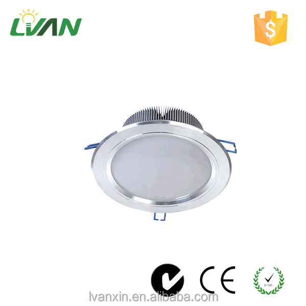 Wholesale warranty 3 years modern high power 7w recessed led ceiling light