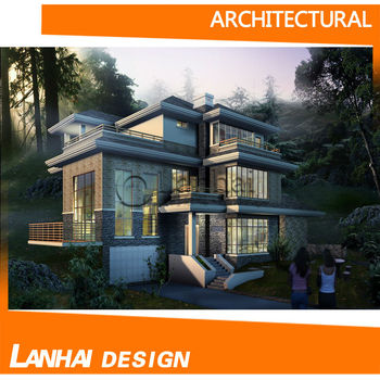 Compound Indian Modern House Design