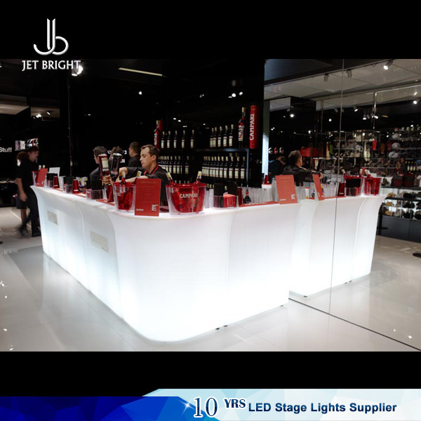 Bar And Pub Furniture Style Illuminated Led Bar Counter for sale
