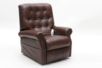 top grain leather massage lift chair electric adjustable recliner sofa