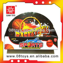 kids plastic board and hoop mini basketball toy with EN71 certificate