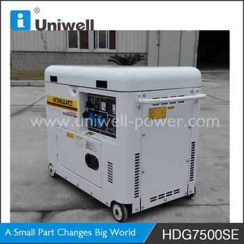 AC Single Phase Diesel Generator homemade electrical generator 220v