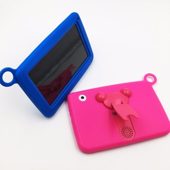 Kids Gift TAB 4 colors in stock WIFI Educational 7inch kids tablet pc with protect holder