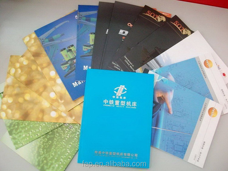 In many styles promotional printing service of paper flyer