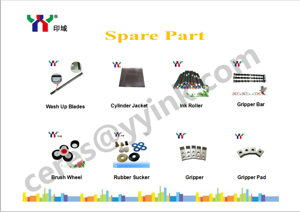 High Quality Ceres Gripper Bar for Offset Printing Machine