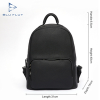 top high quality elegant design fashion cow real luxury full grain man guangzhou custom leather backpack oem men designer