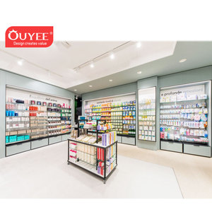 New Pharmacy Design Idea Pictures Shop Counter Furniture Wooden Pharmacy Shelves
