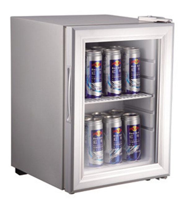 Counter Top Glass Door Freezer Display For Ice Cream And Foods