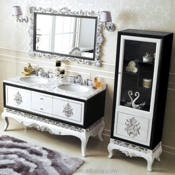Royal Europe Palace Style Bathroom Vanity Classic Double Sink