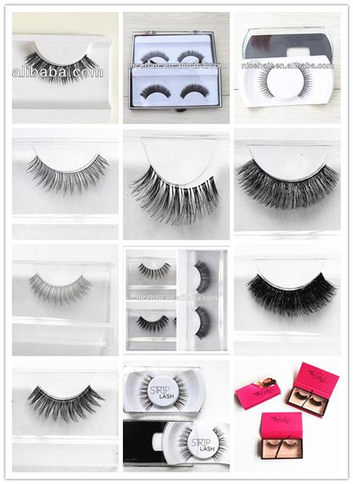 Handmade Wholesale Private Label Synthetic Mink Eyelashes Siberian ...
