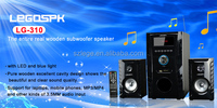 Hotselling cheapest 2.1 ch multimedia woofer speaker system for home theater best price