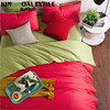 100% Bamboo Bedding Set/Bedding Flat set in Natural colorful 60x60S