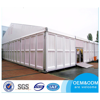 China Manufacturer Low Cost Aluminum Frame Tent Outdoor Large Industrial tent Warehouse Tent