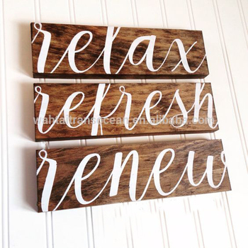Rustic Wooden Signs Vintage Style