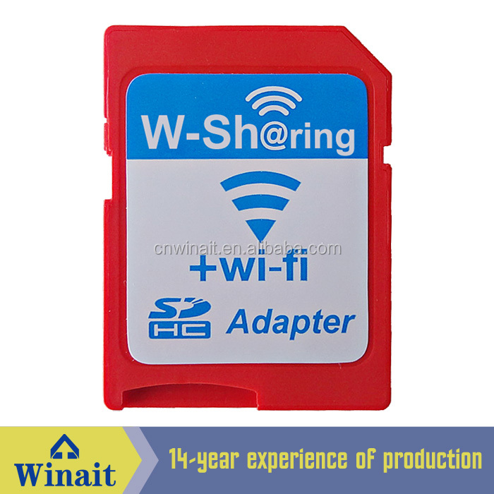 Wireless wifi SD card adapter full capacity WS-02