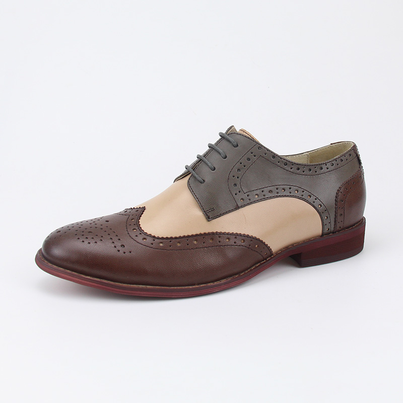 gentleman casual YINZO men fashion oxfords genuine England leather brogues shoes men style vzIqvXg