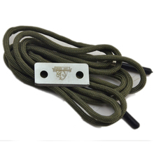 new 2017 direct by china paracord shoelace with fire starter for camping survival