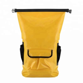 New Stylish Roll Top Pvc Dry Bags Waterproof Backpack For Outdoor Travel