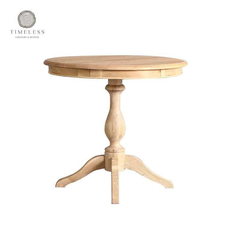 Solid Oak Wood White Washed Finish Small Round Dining Table Buy Round Dining Table Round Dining Table Round Dining Table Product On Alibaba Com