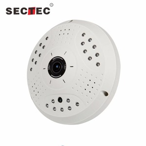 dome 360 degree 5MP outdoor wireless camera Fisheye Lens Panoramic wifi ip camera