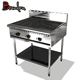 Restaurant Equipment Kitchen Fast Food Portable Cast Iron BBQ Gas Grill