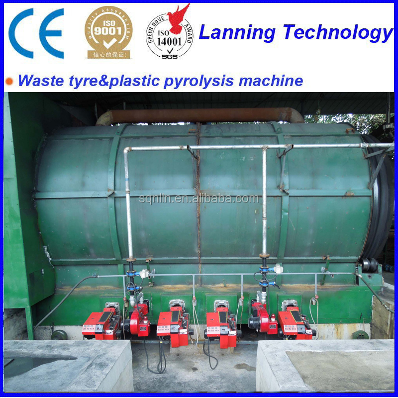 waste tire recycling to tire oil