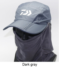 1pcs Daiwa Removable Fishing Hat Collapsible Breathable Fishing Cap With Face  Neck Cover Outdoor Sport Hiking Camping Visor Hat a89c77713bb4