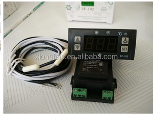 SF-102 electronic temperature controller temperature controller lights defrost freezer refrigerator