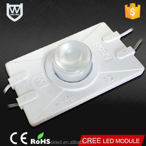 China factory price wide degree viewing angle 12V IP65 4040 led high power 3W led injection module