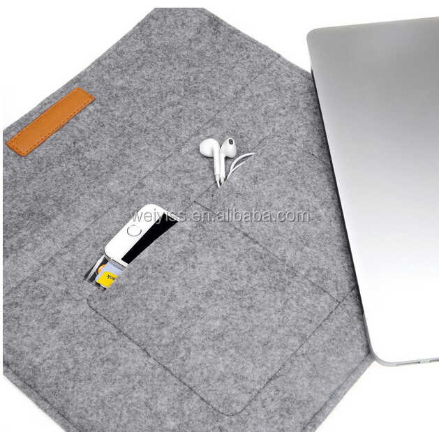 timeless design b34ae de4e3 Briefcase Style Felt Material Laptop Sleeve Case For Gifts,For 13.3 Inch  Macbook Air /notebook Sleeve With High Quality - Buy Laptop Sleeve  Case,Felt ...