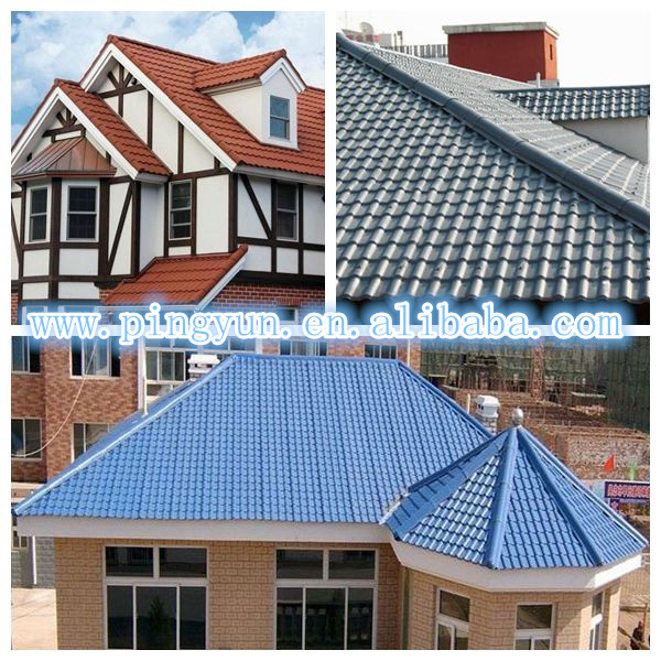 French Roof Tile For House Designs Steel Roofing Product On Alibaba