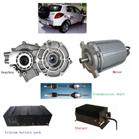 electric car conversion kit/SHINEGLE e auto umbausatz 144 volts AC motor for modified car