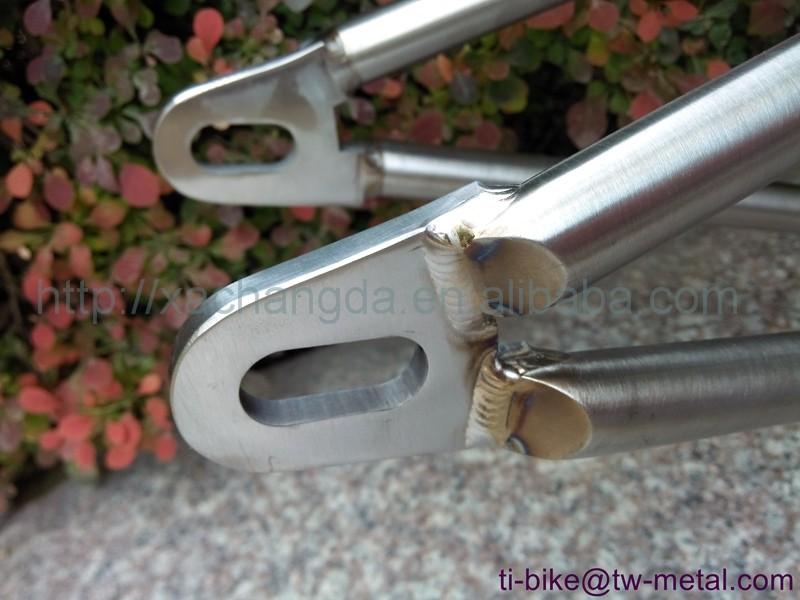 Heißer Verkauf! Xacd Aus Titan Bmx Bike Rahmen Mit Hand Gebürstet ...