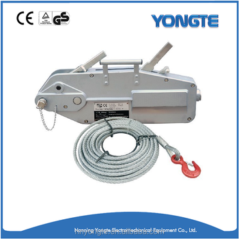 1.6t Hand Winch/ Pulling Cable Hoist/ Wire Rope Pulling Hoist - Buy ...